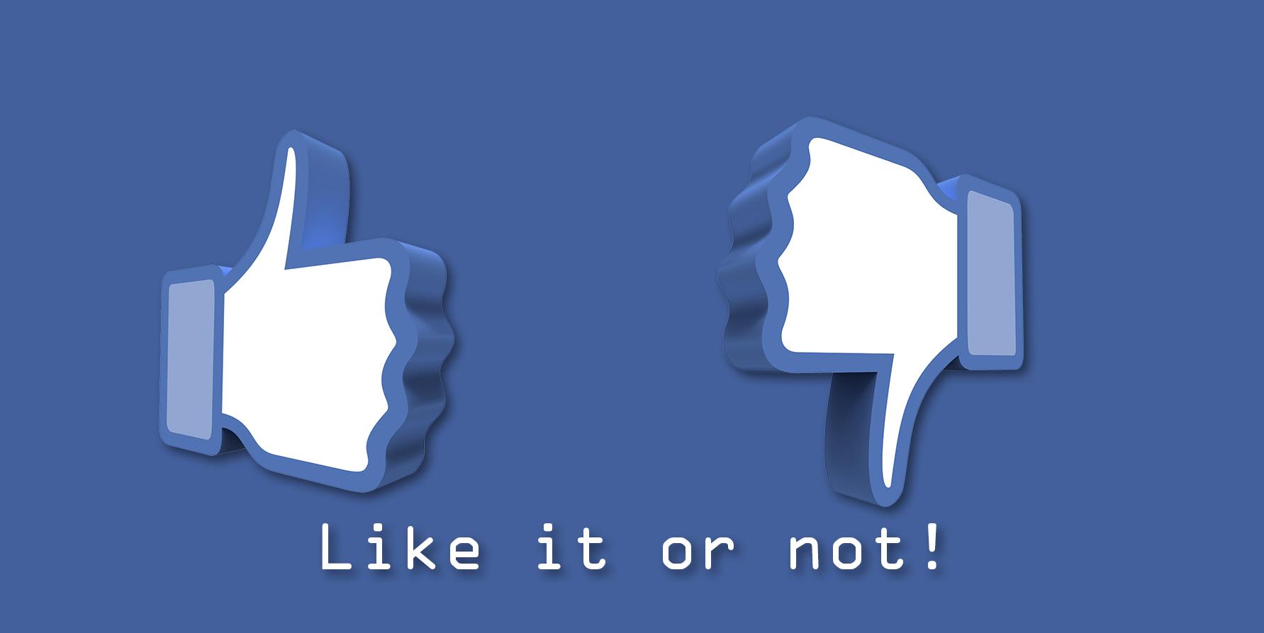 Modifications ordre Facebook