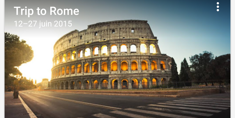 Google Trips - Rome