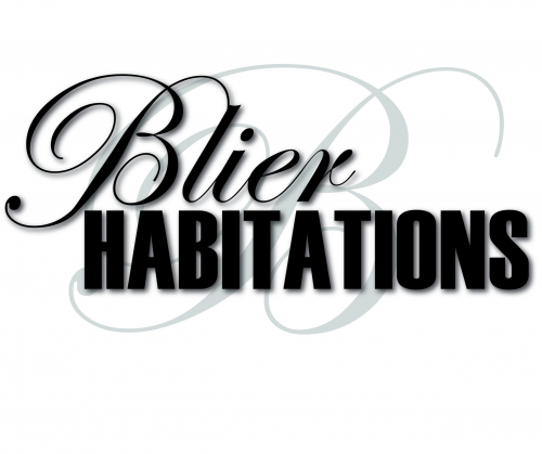 Logo Blier Habitation - with B