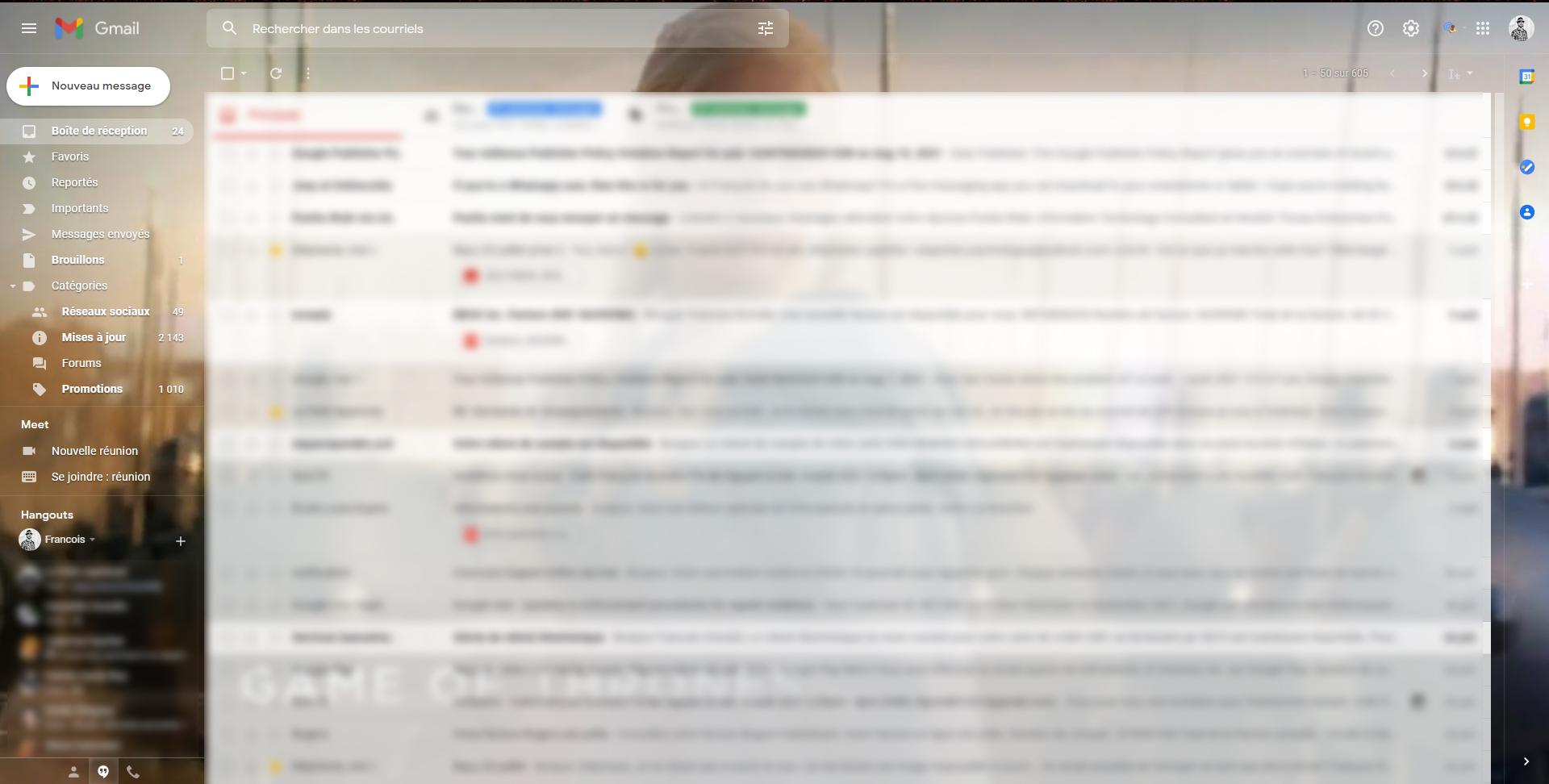 Remplacer Hangout par chat web 1